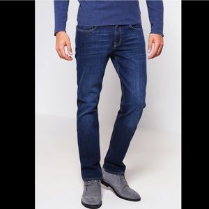 7 For All Mankind The Straight Leg Jeans Dark Wash